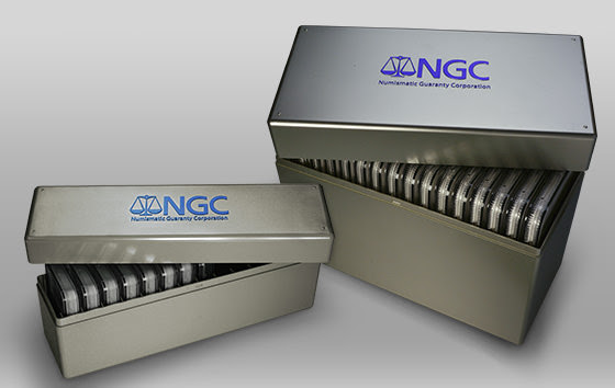 New NGC display boxes for double and over-sized holders