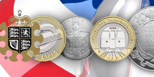The Royal Mint Receives Four Nominations for Coin of the Year Awards