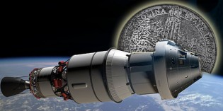 Coin 3D-Printed at NC State Successfully Launched Aboard Orion Spacecraft