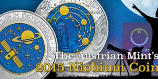 Celestial: The Austrian Mint's 2015 Niobium Coin Takes a Look at the Stars