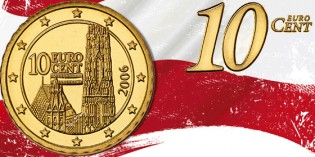 Collecting the Coins of Austria: 10 Euro Cent
