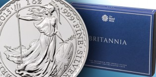 The Royal Mint releases the 2015 Britannia One Ounce Silver Coin