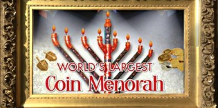 New Jersey Chabad Attempts To Build World's Largest Coin Menorah