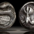 Elis, Olympia, 408 BC. Zeus mint. Struck for the 93rd Olympaid. Silver Stater