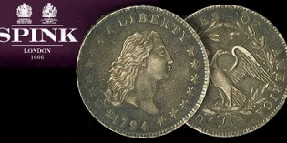 US Coins – Spink to sell iconic 1794 Silver Dollar