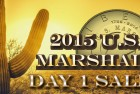Modern Coin News: U.S. Marshals Commemorative Coin First Day Sales Figures Released