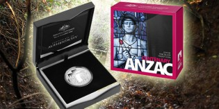 ANZAC Centenary Commemorative 1st Coin of 2015 for Royal Australian Mint