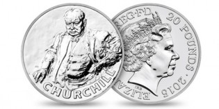 Royal Mint celebrates 'Greatest Briton of all time' Sir Winston Churchill on new £20 coin