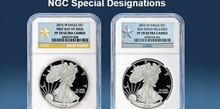 NGC 2015-W Proof Silver Eagle Special Designations
