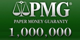 Paper Money Guaranty Grades 1,000,000 Notes