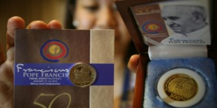 Pope Francis Commemoratives Mark Travels to Philippines, Sri Lanka