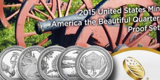 2015 United States Mint America the Beautiful Quarters Silver Proof Set™ Available on Feb. 20