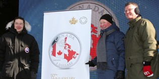 Royal Canadian Mint Celebrates 50th Anniversary of the Canadian Flag with Gold and Silver Coins
