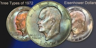 The Three Types of 1972 Eisenhower Dollar – Video: 6:06