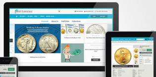 David Lawrence Rare Coins Steps into Future with Newly Redesigned Website