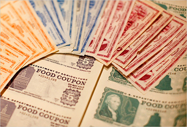 History Of Food Stamp Tokens