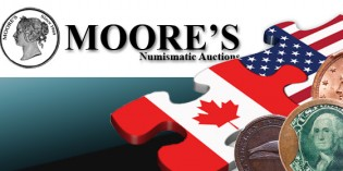 Fresh American Material on Offer at Canadian Numismatic Auction