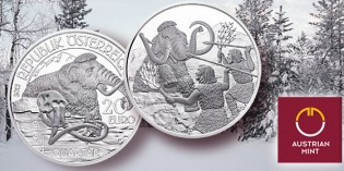 "Austrian Mint Unveils ""Quaternary Period"", Fifth and Final Silver Coin Prehistoric Series"