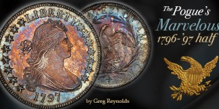The Marvelous Pogue Family Coin Collection, Part 1: Finest 1796 – '97 Draped Bust Half Dollar