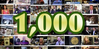 CoinWeek Uploads 1,000th Coin Video to the CoinWeek YouTube Channel