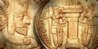 Ancient Coin Profiles – Shapur I of Persia –  Rome's Worst Nightmare