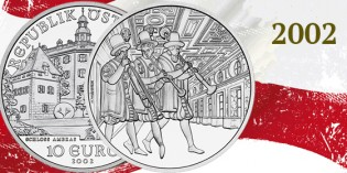 Collecting the Coins of Austria: 2002: Ambras Castle (Schloß Ambras) 10 Euro Silver Coin