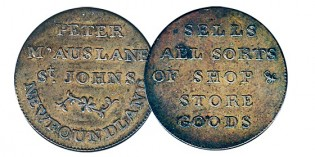 170-year-old token 'star of collection' at Toronto Coin Expo