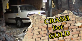 Crash for Gold: Car Drives through Northern Nevada Coin – Video: 2:32 (UPDATED MARCH 27)