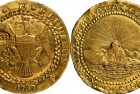 Famed Brasher Doubloon on Display at ANA Money Museum