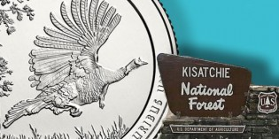 America the Beautiful Kisatchie National Forest 5-Oz. Silver Uncirculated Coin™ Available April 28