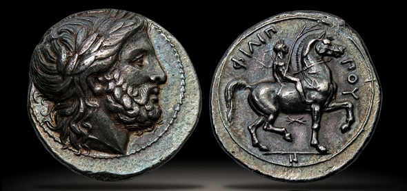 ancient greek coin - phillip_ii