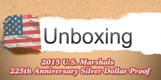 CoinWeek Unboxing: 2015 U.S. Marshals $1 Silver Commemorative Proof Coin – Video: 4:56