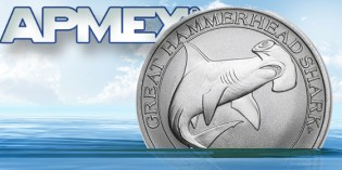 Terror from the Deep: APMEX and Perth Mint Produce New Hammerhead Shark Silver Bullion Coin