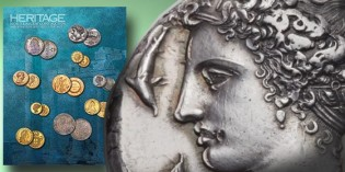 Heritage brings in $6.6 Million as World Coins Sell at CICF Show