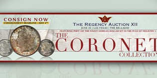 Legend Rare Coin Auctions President Julie Abrams On Consignment Deadline for Regency XII Sale – Video: 3:20.