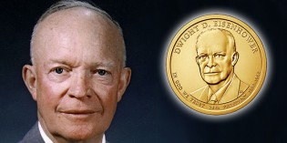 U.S. Mint to Release Eisenhower $1 Coin Cover May 5
