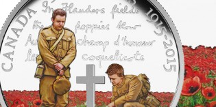 Royal Canadian Mint Commemorates 100th Anniversary of In Flanders Fields with Silver Coins