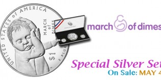 U.S. Mint Opens Sales for 2015 March of Dimes Special Silver Set May 4