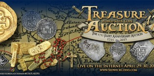 Sedwick's Treasure, World & U.S. Coin Auction 17 Now Online