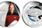 Captain Jean-Luc Picard, TNG Enterprise on New Star Trek Coins from Perth Mint