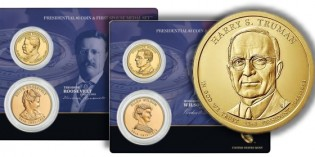 U.S. Mint to Offer Harry Truman Presidential $1 Coin & First Spouse Medal Set April 29