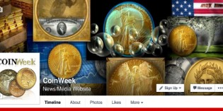 CoinWeek Celebrates Its First 10,000 Facebook Fans