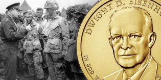U.S. Mint Eisenhower Presidential $1 Coin & First Spouse Medal Set Available May 12