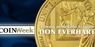 The Artwork of Medallic Sculptor Don Everhart – Video: 7:41.