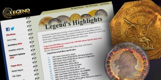 Legend Numismatics Pre-Gardner Auction Market Report