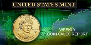 State of the Mint –  U.S. Mint Coin Sales as of May 10, 2015