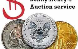 Sonny Henry's June 13 Coin Auction