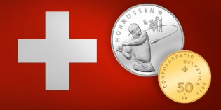 "New Swiss Commemorative Coins: ""Hornussen"" and ""2000 years of Aventicum"""