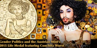 Gender Politics and the Austrian Mint's 2015 Life Ball Medal feat. Conchita Wurst