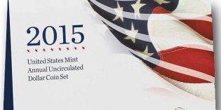 2015 U.S. Mint Annual Uncirculated Dollar Coin Set Available June 16